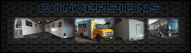 RV - Trailer - Bus - Concession - Conversions Las Vegas NV