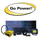 RV Solar Panel System - Go Power Weekender Solar System